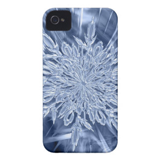 ice crystal Christmas favor iPhone 4 Cases