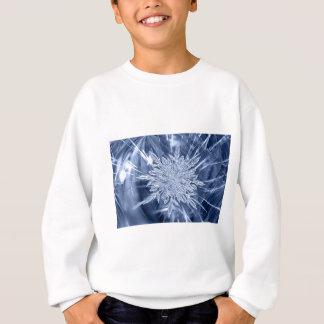 ice crystal Christmas favor Sweatshirt