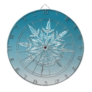 ice crystal dartboard