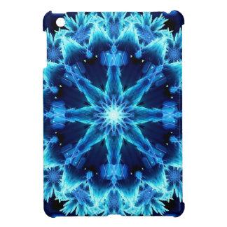 Ice Crystal Light Mandala iPad Mini Cases