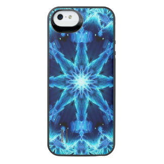 Ice Crystal Light Mandala iPhone SE/5/5s Battery Case