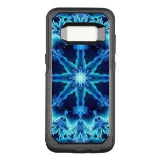 Ice Crystal Light Mandala OtterBox Commuter Samsung Galaxy S8 Case