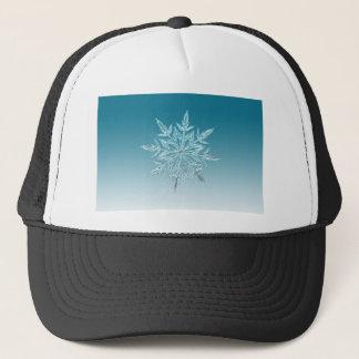 ice crystal trucker hat