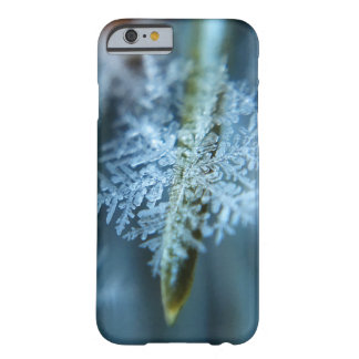 Ice Crystal,  Wintertime, Snow, Nature Barely There iPhone 6 Case