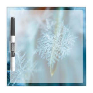Ice Crystal,  Wintertime, Snow, Nature Dry Erase Board