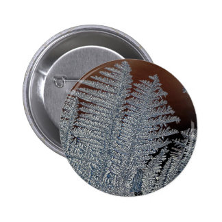 Ice crystals 2 inch round button