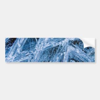Ice Crystals Bumper Sticker