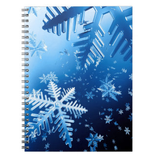 Ice Crystals Notebook