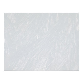 Ice crystals texture letterhead