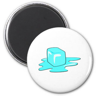 Ice Cube 2 Inch Round Magnet