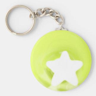 Ice Cube Basic Round Button Keychain