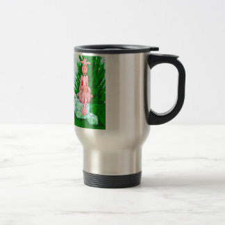 Ice Cube Cow Stainless Steel Travel Mug