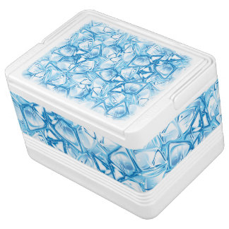 Ice Cube Filled Cooler