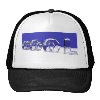 ICE CUBE TEXT HAT