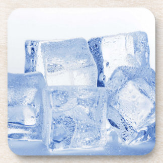 ICE CUBES BEVERAGE COASTER