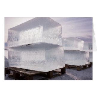 Ice cubes card