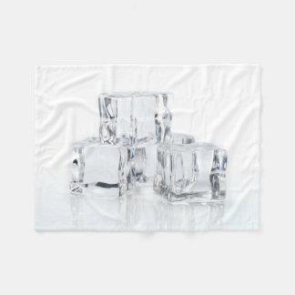 Ice Cubes Fleece Blanket