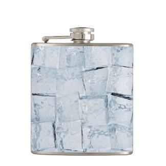 Ice cubes hip flask