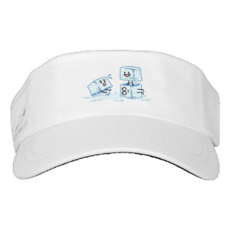 ice cubes icy cube water slipping stack melt cold visor