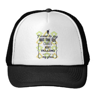 Ice Cubes Jogging Sport Trucker Hat