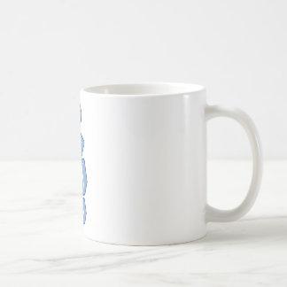 Ice cubes coffee mug