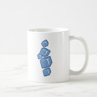Ice cubes mugs