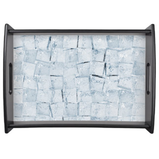 Ice cubes food tray