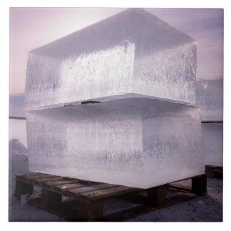 Ice cubes tile