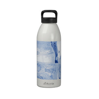 ICE CUBES REUSABLE WATER BOTTLE