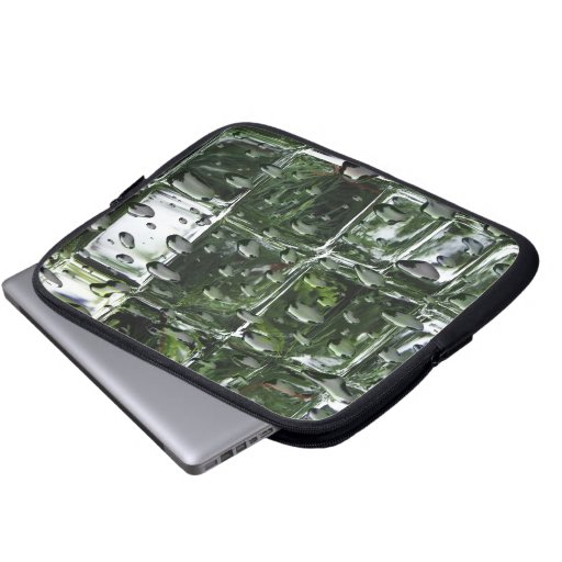 Ice Cubes with Water Drops Electronics Bag Computer Sleeve