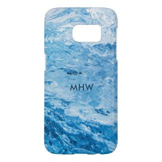 """Ice"" custom monogram phone cases"