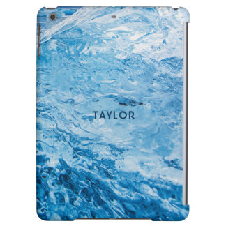 """Ice"" custom name device cases iPad Air Case"