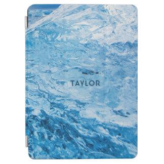"""Ice"" custom name device covers iPad Air Cover"