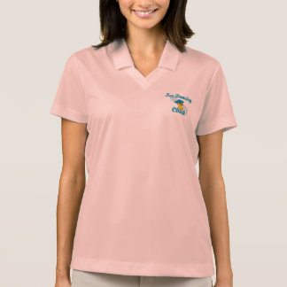 Ice Dancing Chick #3 Polo Shirt