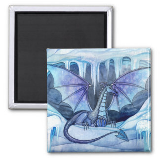 Ice Dragon Magnet