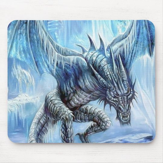 Ice Dragon Mousepad