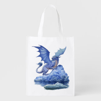 Ice Dragon Reusable Grocery Bag