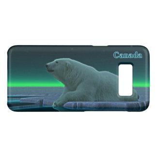 Ice Edge Polar Bear - Canada Case-Mate Samsung Galaxy S8 Case