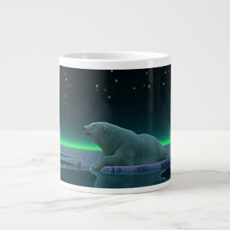 Ice Edge Polar Bear Jumbo Mug