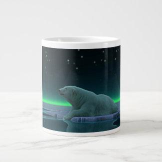 Ice Edge Polar Bear 20 Oz Large Ceramic Coffee Mug