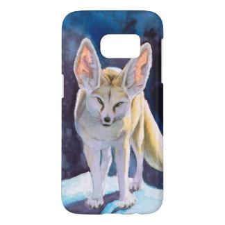 Ice Fennec Fox Samsung Galaxy S7 Case