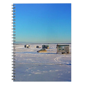 Ice Fishing collectin Notebook