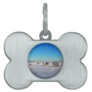 Ice Fishing collectin Pet Tag