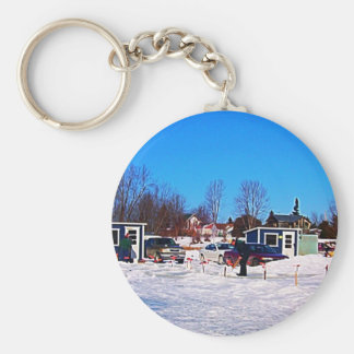 Ice Fishing collection Keychain