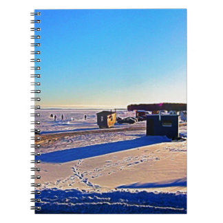 Ice Fishing collection Notebooks
