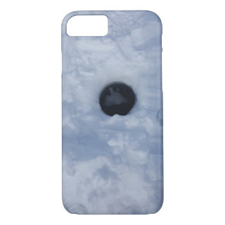 Ice Fishing Hole Case-Mate iPhone Case