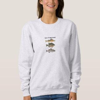 Ice Fishing Panfish Sweatshirt