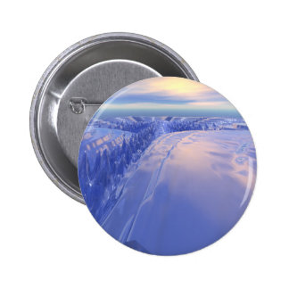 Ice Fissure 2 Inch Round Button