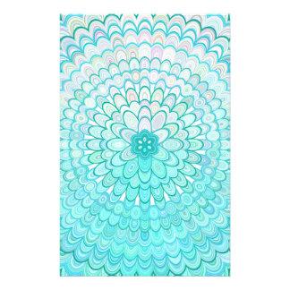 Ice Flower Mandala Flyer