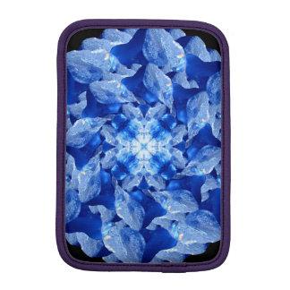 Ice Formation Mandala iPad Mini Sleeves